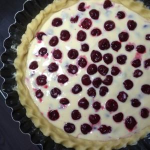 Вишневый тарт с рикоттой (16)