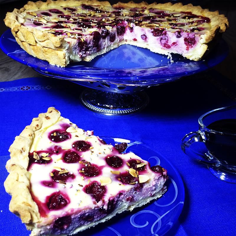 Вишневый тарт с рикоттой (51к)